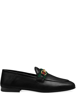 Gucci Web detail loafers - Black