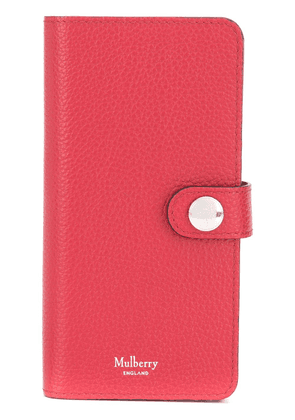 Mulberry leather Samsung S9 case - Red