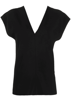 The Row v-neck labo top - Black