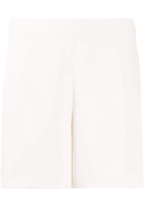 P.A.R.O.S.H. relaxed-fit high-waisted shorts - White