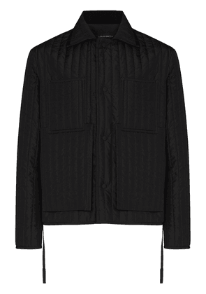 Craig Green quilted chore jacket - Black