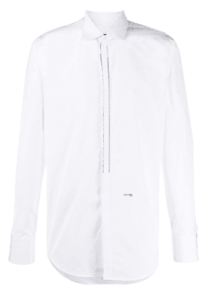 Dsquared2 embellished tailored shirt - White