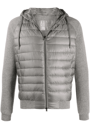Herno panelled padded jacket - Grey