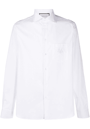 Gucci GG embroidered shirt - White