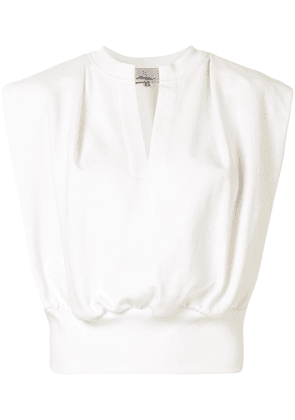 3.1 Phillip Lim SL FRENCH TERRY TOP - White
