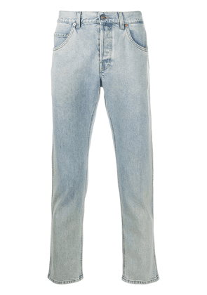 Gucci cropped straight-leg jeans - Blue