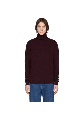 Norse Projects Red Merino Kirk Turtleneck