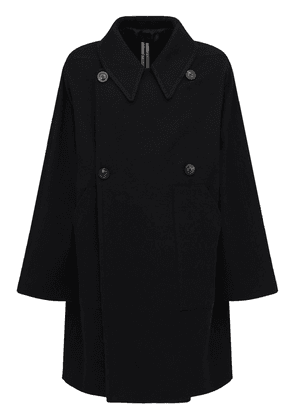 Over Cotton & Wool Double Breast Coat