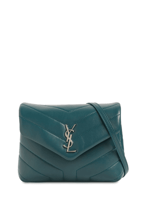 Toy Loulou Monogram Leather Bag