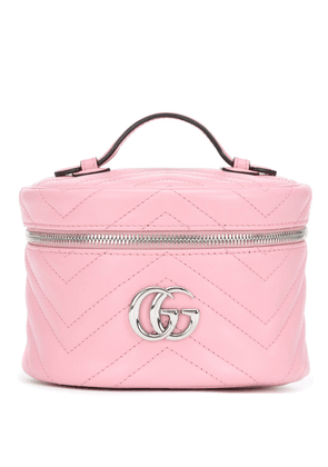 GG Marmont leather cosmetics case
