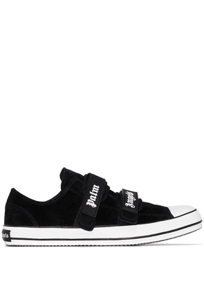 Palm Angels logo-print touch-strap sneakers - Black