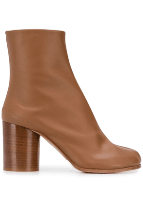 Maison Margiela leather ankle boots - Brown