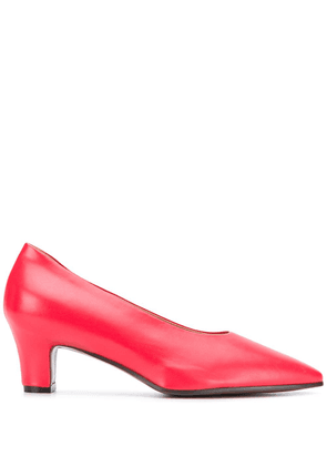 Marni slip-on low-heel pumps - Red