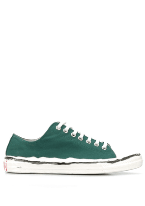 Marni distressed sneakers - ZM064 PETROLEUM+LILY WHITE