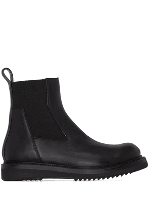 Rick Owens Creeper leather ankle boots - Black