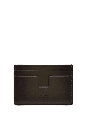 Tom Ford leather card holder - Brown