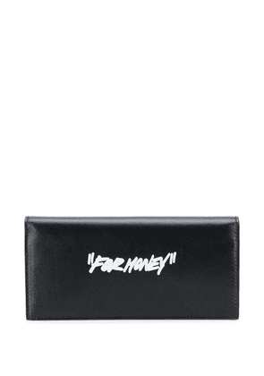 Off-White quote yen wallet - Black