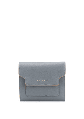 Marni square flap wallet - Grey