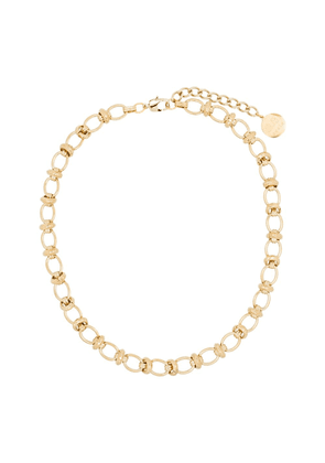 By Alona Valentina oval link chain necklace - Metallic