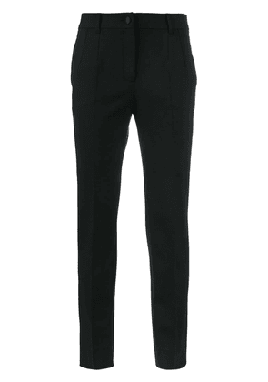 Dolce & Gabbana classic slim fit trousers - Black