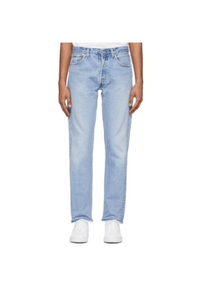Re/Done Indigo Levis Edition Straight Taper Fit Jeans
