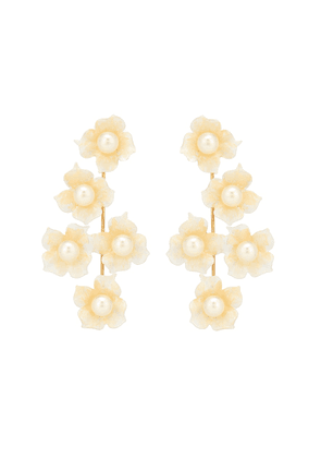 Petra floral earrings