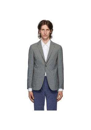 Boss Grey Wool Nolvay Blazer