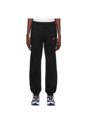 Off-White Black and White Logo Slim Lounge Pants