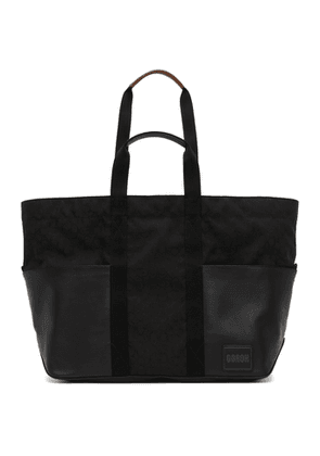 Coach 1941 Reversible Black and Green Pacer Tote