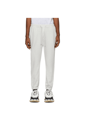 Juun.J Grey French Terry Lounge Pants