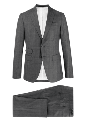 Dsquared2 check print two piece suit - Grey