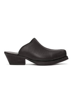 Our Legacy Black Slip-On Mules
