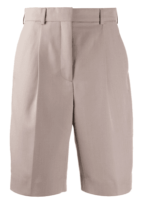 Acne Studios tailored knee-length shorts - NEUTRALS