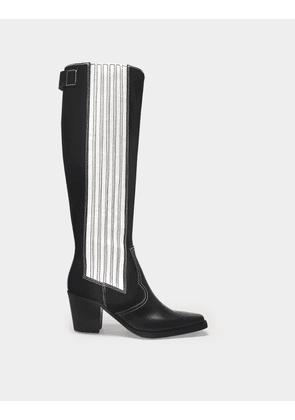 Boots Polido in Black Leather