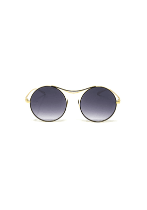 Limited Edition Sulis Sunglasses with Chain - Black