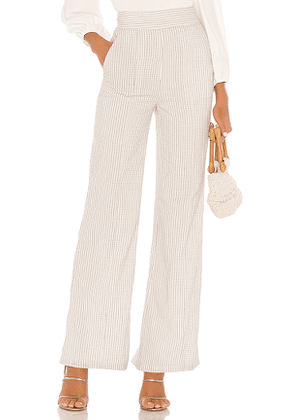 Tularosa Boswell Trouser in White. Size M,XS.