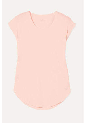 Nike - City Sleek Dri-fit Stretch-jersey Top - Pastel pink