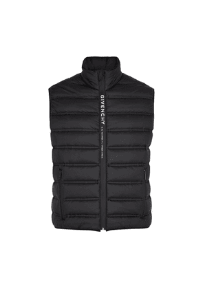 Givenchy Black Quilted Shell Gilet
