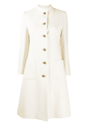Gucci horsebit detail coat - NEUTRALS