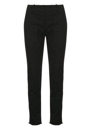 Nili Lotan slim-fit trousers - Black