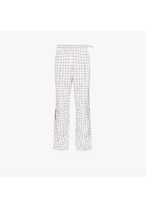 A-COLD-WALL* Check print trousers