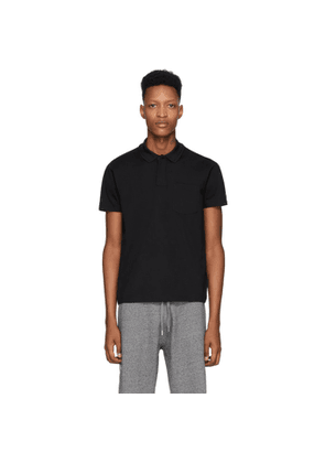 Kenzo Black Fitted Polo