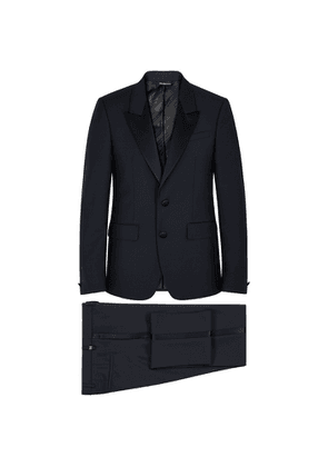 Givenchy Navy Striped Wool-blend Tuxedo
