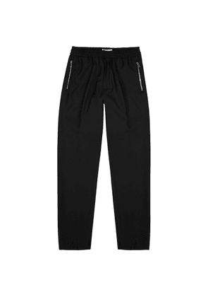 Givenchy Black Tapered-leg Wool Trousers