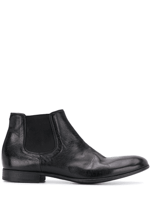 Pantanetti elasticated ankle boots - Black