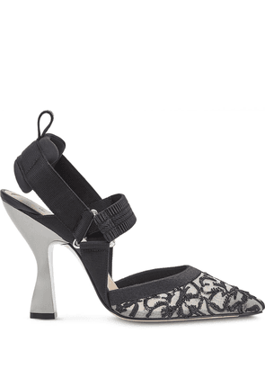 Fendi Colibrì slingbacks pumps - Black