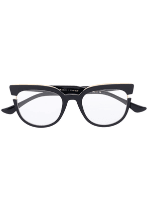 Dita Eyewear oversized frame glasses - Black