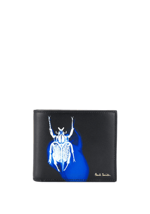 Paul Smith logo insect print wallet - Black