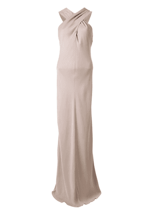 Ginger & Smart Polish knot detail gown - PINK