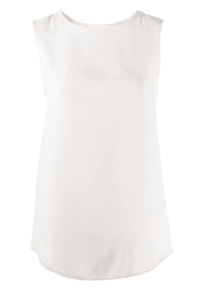 Fabiana Filippi sleeveless shift blouse - NEUTRALS